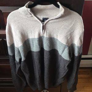 Docker's Quarter Zip Pullover Sweater